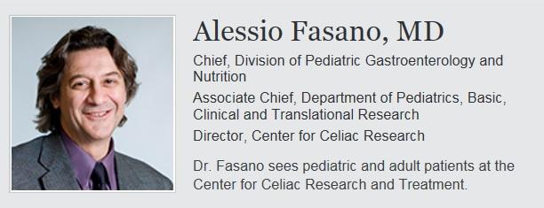 Alessio Fasano, MD